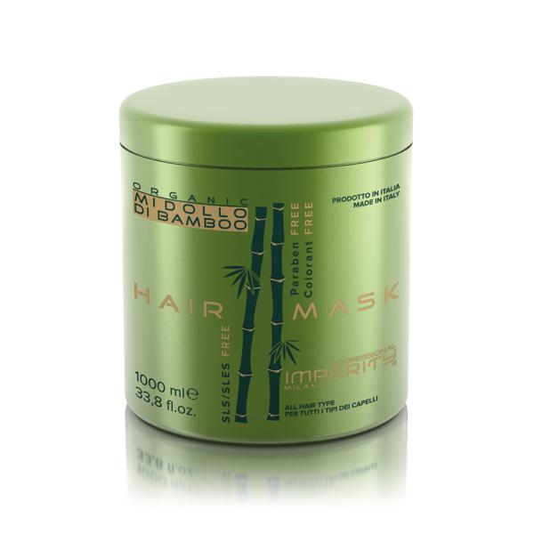 Organic Midollo Di Bamboo Parabén Mentes Hajmaszk 1000ml IP
