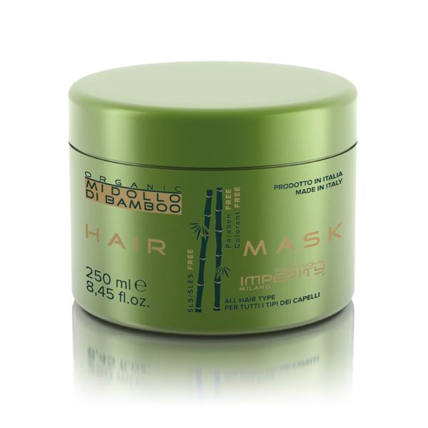 Organic Midollo Di Bamboo Parabén Mentes Hajmaszk 250ml IP