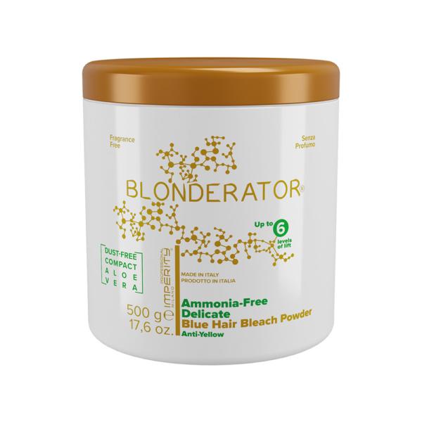 Blonderator Ammóniamentes Kék Szőkítőpor Aloe Verával 500g IP (6)