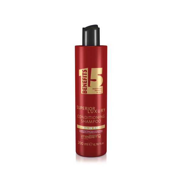 All In One Superior Luxury Conditioning Shampoo-Luxus 2 az 1-ben multifunkciós krémsampon és balzsam