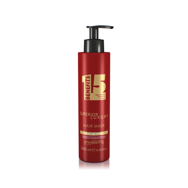 All In One Superior Luxury Hair Mask 200ml - Luxus mélyregeneráló multifunkciós hajmaszk