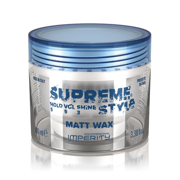 Supreme Style Matt Wax 100ml IP