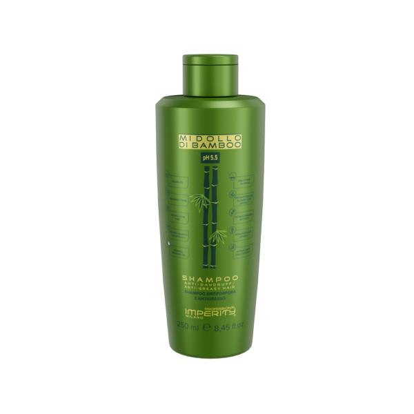 Midollo Di Bamboo Anti-Schuppen, Gegen Fettiges Haar Shampoo 250 ml IP